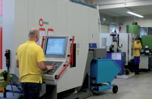 宝力士滚压刀具在CNC应用案例